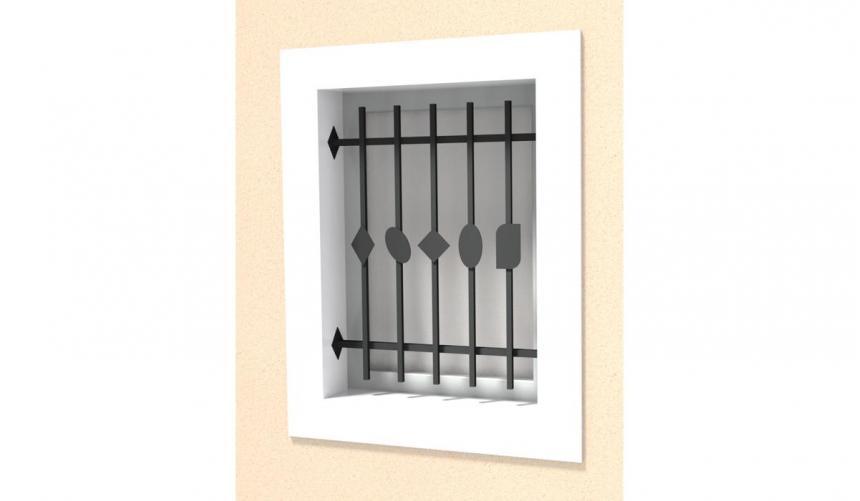 Défense Fenêtre modèle 3