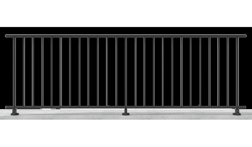 Garde-Corps barreaudé Modèle 5
