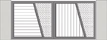 Composition 1 du portail alu Viré-Clessé