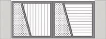 Composition 2 du portail alu Vinzelles