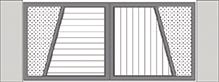 Composition 3 du portail alu Vinzelles