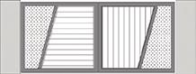 Composition 5 du portail alu Vinzelles