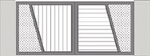 Composition 6 du portail alu Vinzelles
